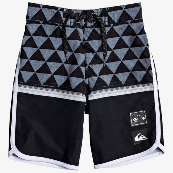 "Boy's 2-7 Highline Divide 14"" Boardshorts"